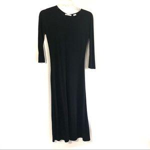 Artizia Babaton black long maxi dress